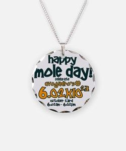 happy mole day Necklace