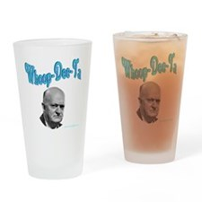 whoop copy Drinking Glass