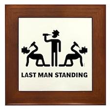 Last Man Standing (Binge Drinking Part Framed Tile