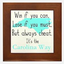 Carolina Way Framed Tile