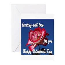 Cute Hybrid roses Greeting Cards (Pk of 10)