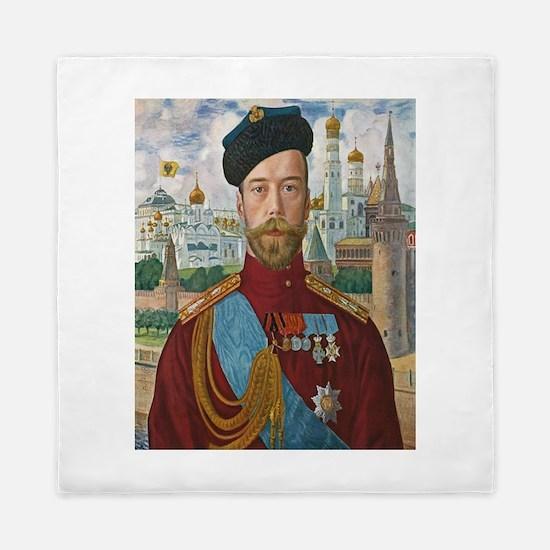 Tsar Nicholas II Queen Duvet