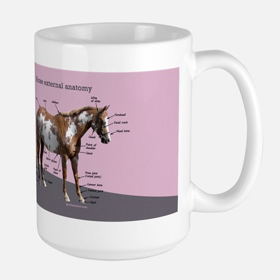 Horse external anatomy Mugs