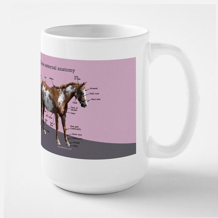 Horse external anatomy Mugs