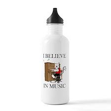 I BELIEVE in MUS-TWO Water Bottle