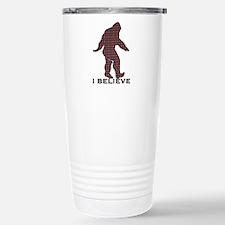 Bigfoot plaid Travel Mug