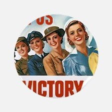 "Join Us in a Victory Job 3.5"" Button"