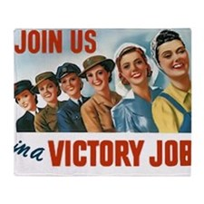 Join Us in a Victory Job Throw Blanket