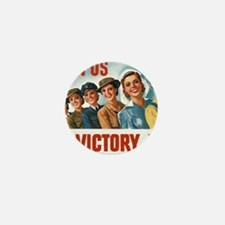 Join Us in a Victory Job Mini Button