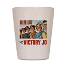 Join Us in a Victory Job Shot Glass