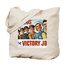 Join Us in a Victory Job Tote Bag