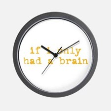 Just Like Scarecrow Wall Clock