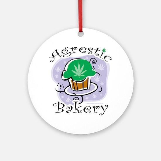 Agrestic-Bakery Round Ornament