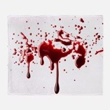 BLOODY Throw Blanket