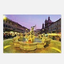 fountain 2 14x10_print Postcards (Package of 8)