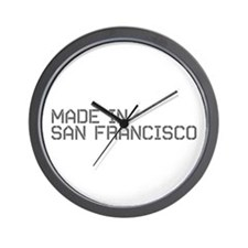 MADE IN SF Wall Clock