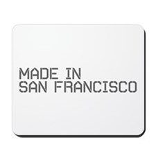 MADE IN SF Mousepad