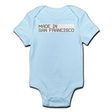 MADE IN SF Onesie