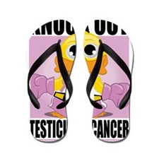Knock-Out-Testicular-Cancer Flip Flops