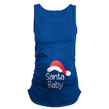 Santa Baby Maternity Tank Top