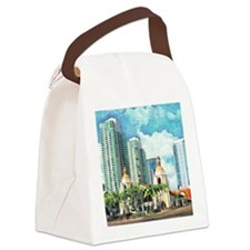 Santa Fe Depot Canvas Lunch Bag