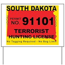 terrorist-hunting-license-SD Yard Sign