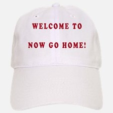 WELCOME TO NY dark Baseball Baseball Cap