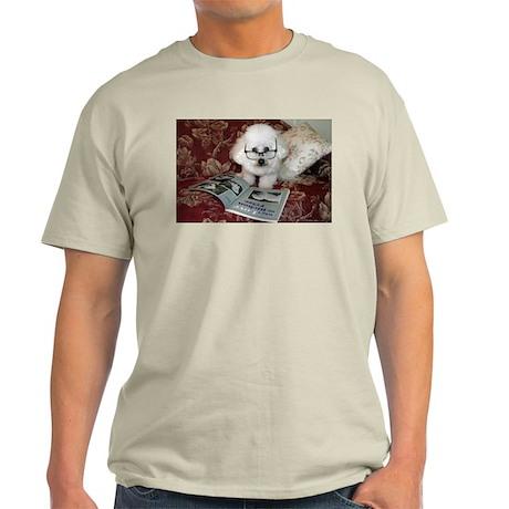 You just Gotta Love a Bichon Ash Grey T-Shirt