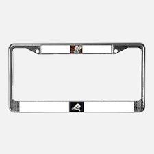 You just Gotta Love a Bichon  License Plate Frame