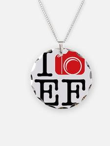 I Shoot EF (Canon) Photo Necklace