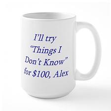 The less you know Mug