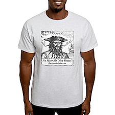 Blackbeard's Stuff Ash Grey T-Shirt