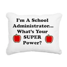 I teach admin Rectangular Canvas Pillow