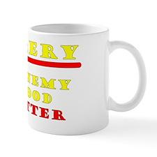 Enemy of Good 2010 yellow copy Mug