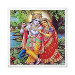 Radha And Krishna Queen Duvet