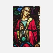 Mary Magdalene Rectangle Magnet