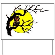 owl_tree_top-trans Yard Sign