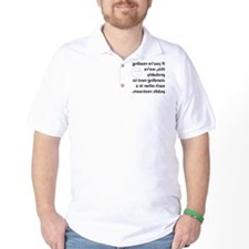 public restroom T-Shirt