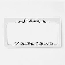 CC_Logo_Black License Plate Holder