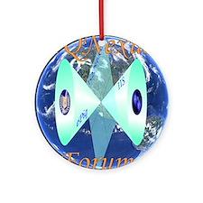 IQNexus01 Round Ornament