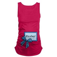 Its a boy! Maternity Tank Top