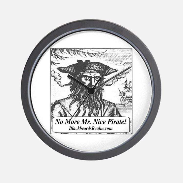 Blackbeard's Stuff Wall Clock