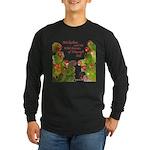 Wild Parrots Long Sleeve Dark T-Shirt