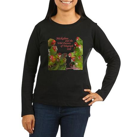 Wild Parrots Women's Long Sleeve Dark T-Shirt