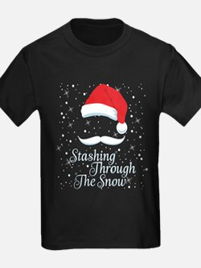Stashing Through The Snow T-Shirt
