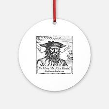 Blackbeard's Stuff Ornament (Round)