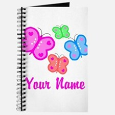 Butterflies Personalized Journal