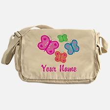 Butterflies Personalized Messenger Bag