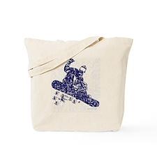 Snow-Boarder Tote Bag