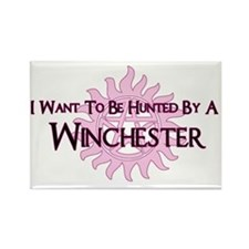 IWTBHBA Winchester for wht Rectangle Magnet